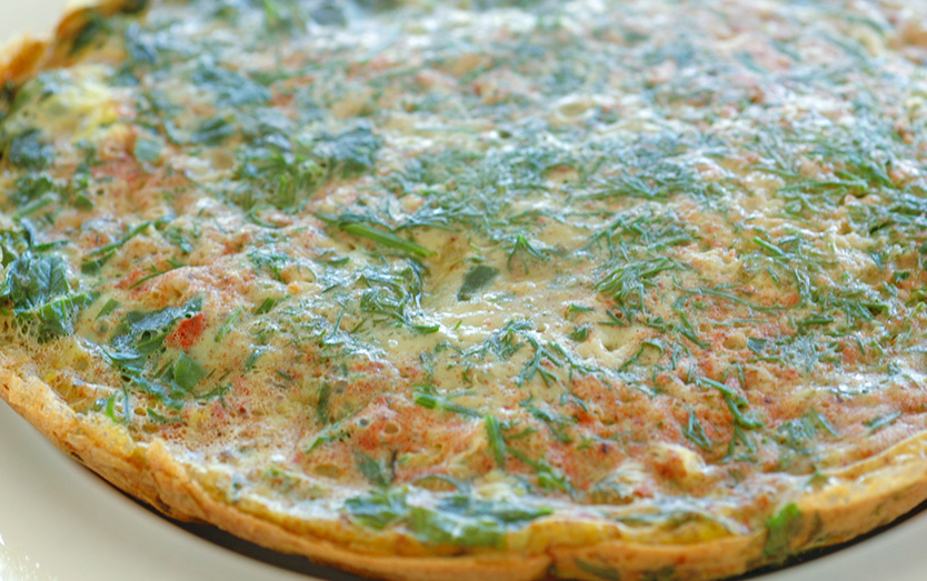 Persian Green Herb Omlette