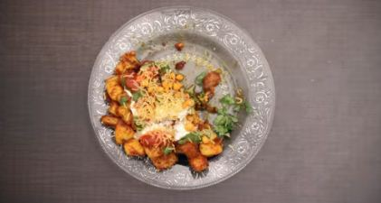 Yummy aloo chaat