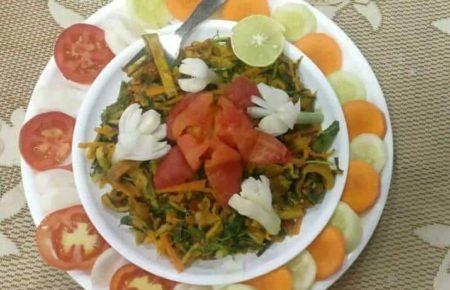 Tomato Green Pea Noodles