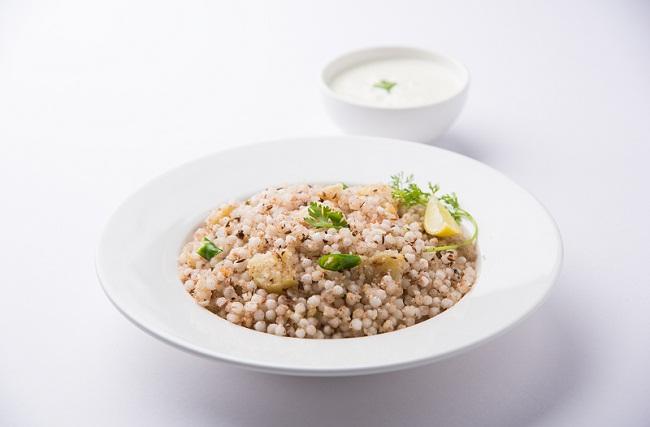 Peas Sago Cashew Nut Snack