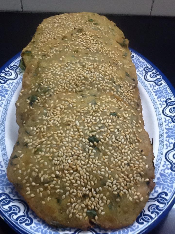 Sweet & Savory Sesame Puri Recipe