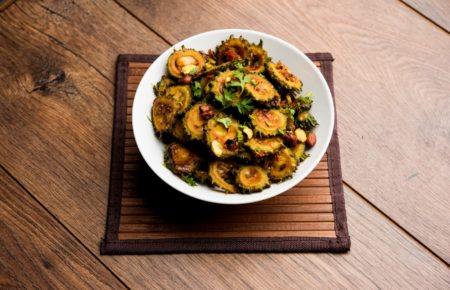 Stir Fried Karela