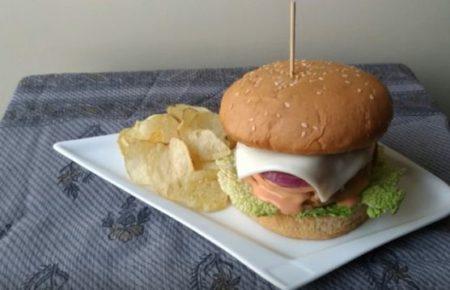 Aloo Tikki Burger Recipe